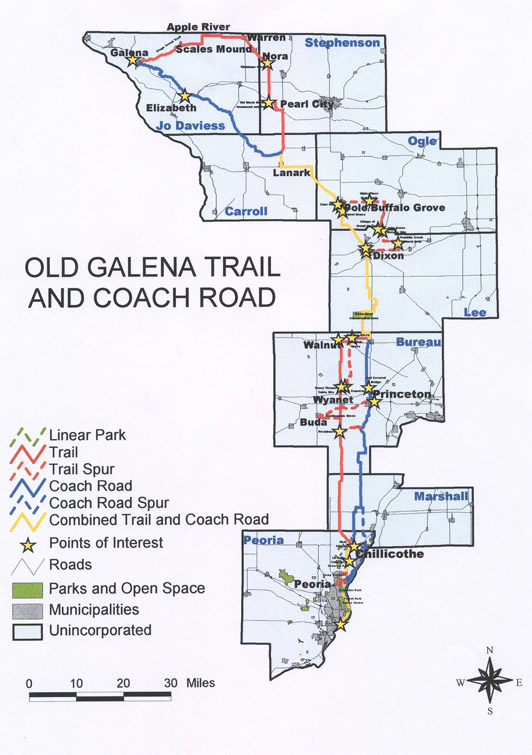 Galena Trail and Coach Road